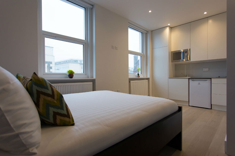Modern and bright studio flat in Holloway London