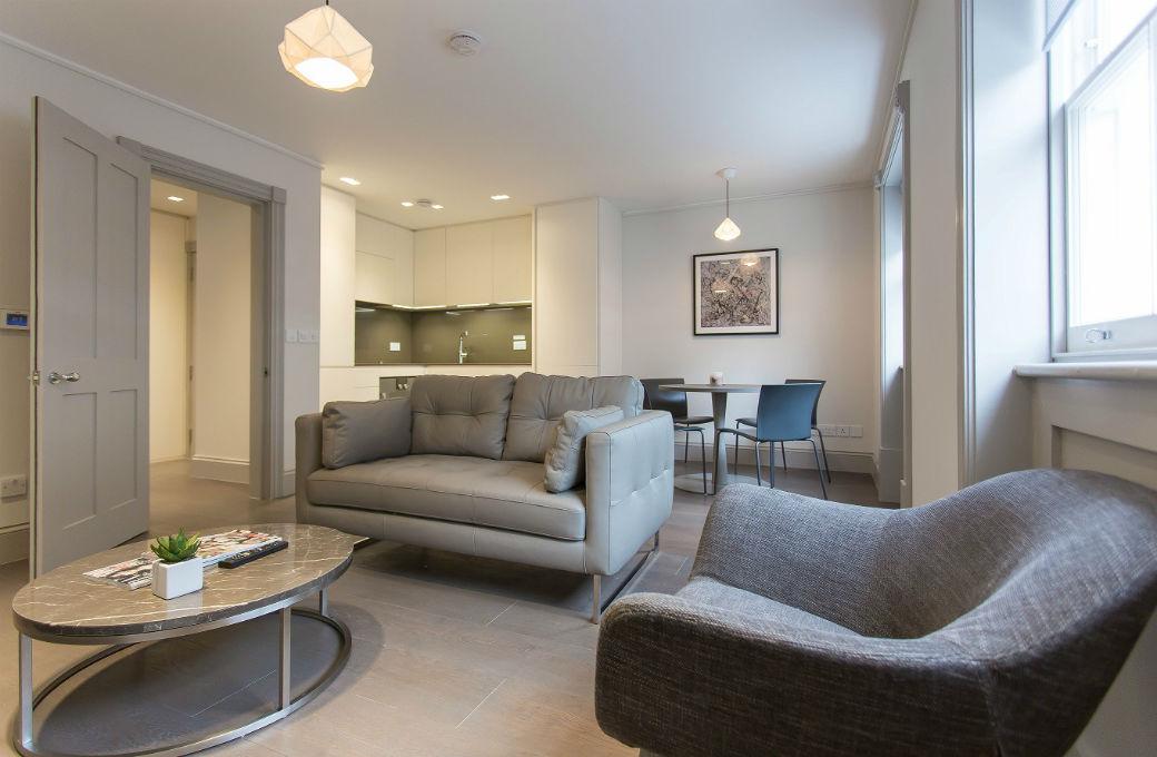 Soho period conversion one bedroom luxury apartment