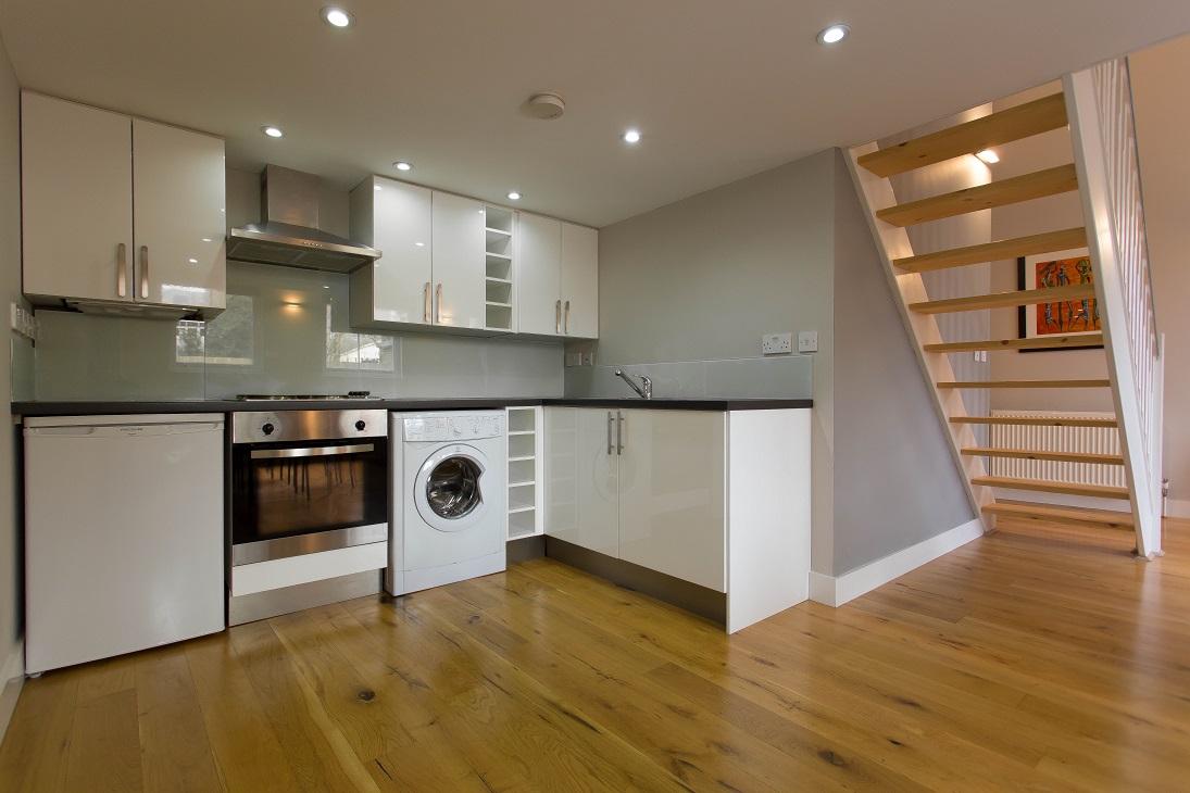 Kitchen in a West Hampstead loft studio