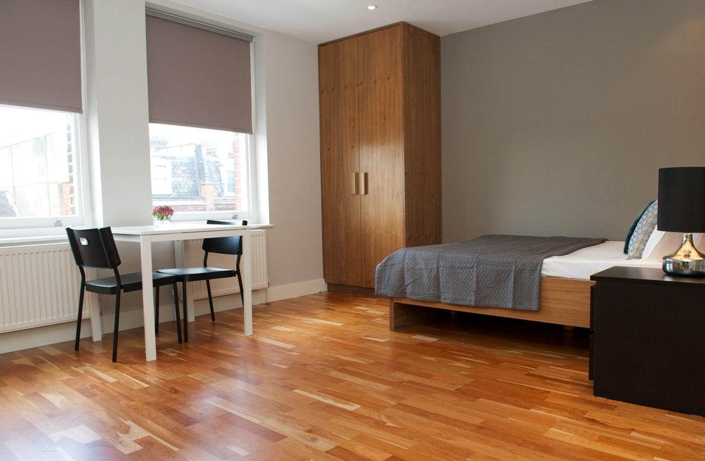 Open plan studio apartment in West Hampstead